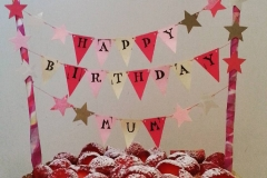 Cake Topper - Happy Birthday Mum