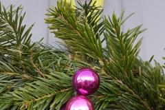 Christmas wreath - The Crafty Lass