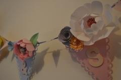 Vintage Floral Wedding Bunting
