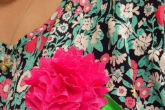 Hot pinks and greens – The Crafty Lass colours!