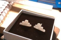 The cloud earrings!