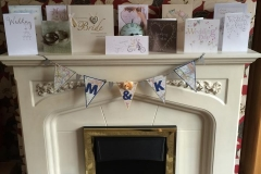 Matt & Karen - Bunting at Home!