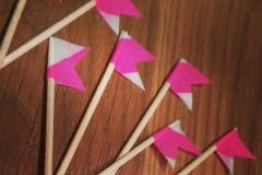 Cupcake Topper Flags