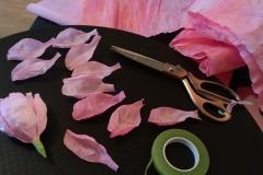 Hand Making Peony Petals