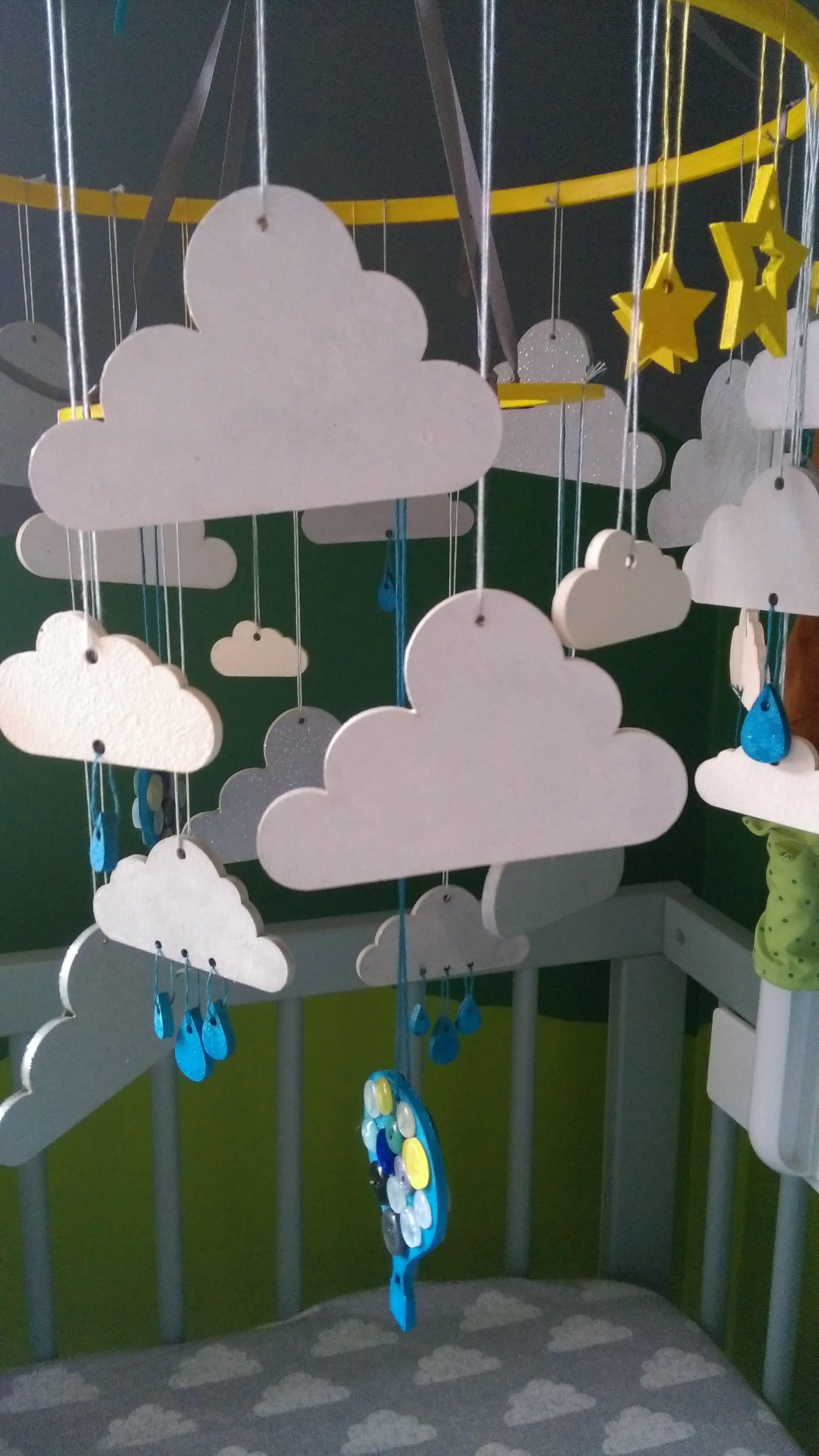 The Cloud Mobile Close Up