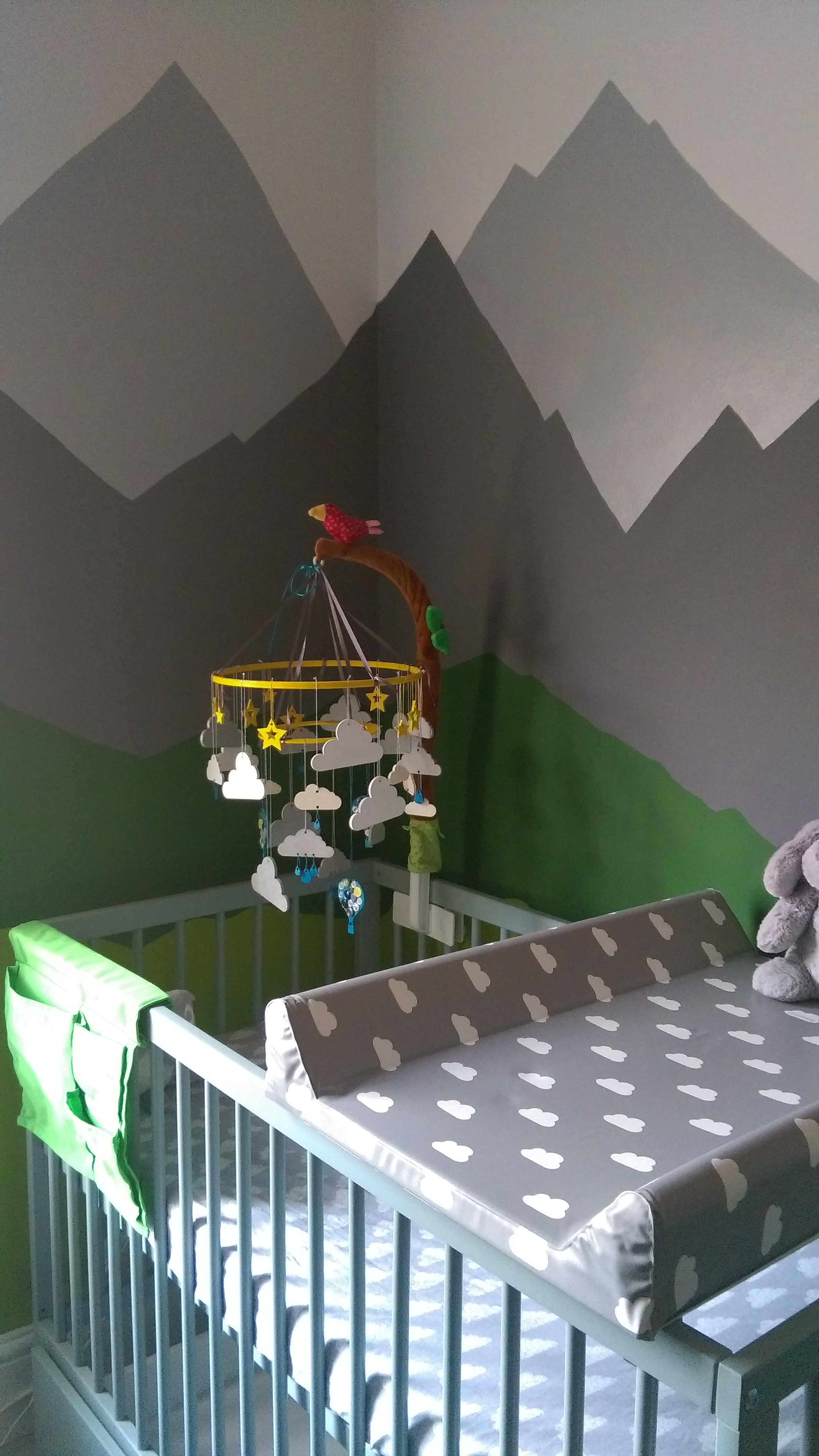 The Nursery - Mountains, The Cot!
