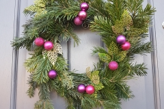 Christmas wreath - The Crafty Lass