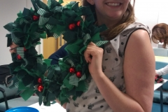 Waitrose Fabric Christmas Wreath Workshop